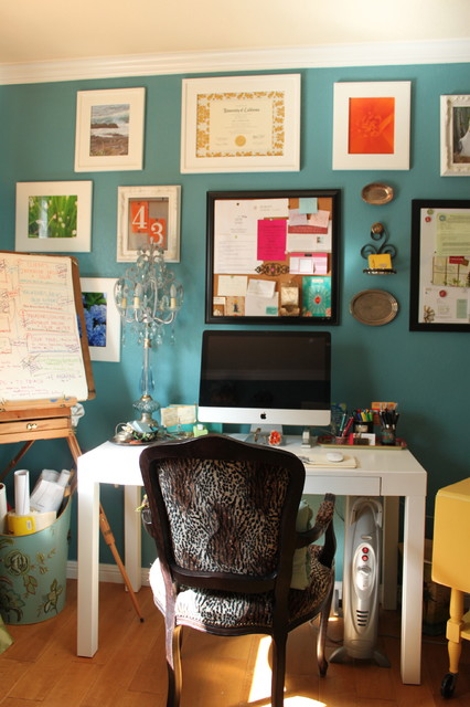 Home Office eclectic home office