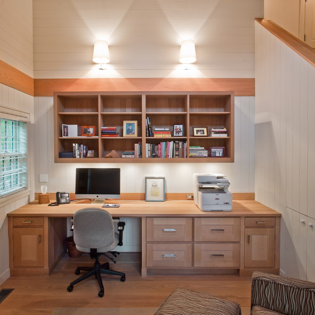 Home office study contemporary home office boston Home study room ideas