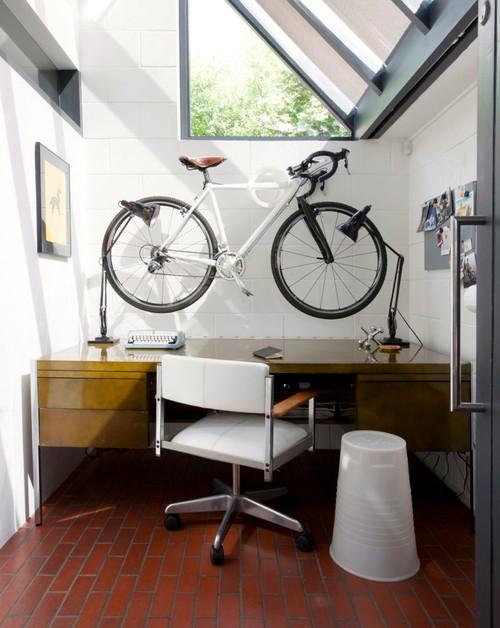 【Houzz】スポーツ用自転車を家の中に収納・保管する5つのアイデア 13番目の画像