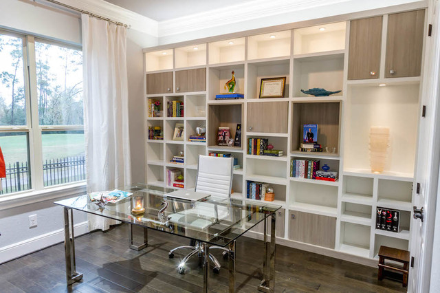 Fabulous Home Office Wall Unit Modern Home Office Los Angeles By Largest Home Design Picture Inspirations Pitcheantrous