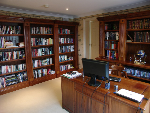 Home Studies - Traditional - Home Office - other metro - by Heaven ...
