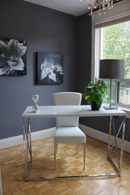 Home Styling contemporary-home-office
