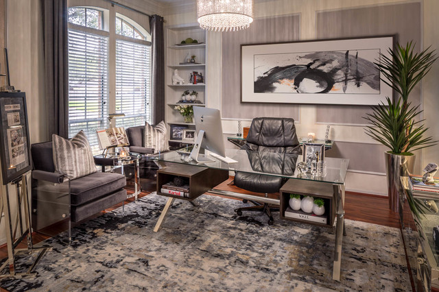 Contemporary Home Office Houston