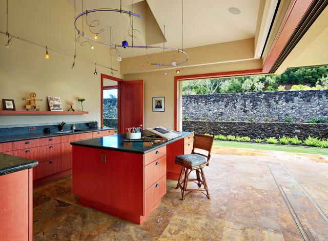 Honolua Ridge, Maui, Residence tropical-home-office