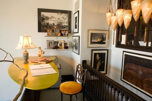 Hotel des Artiste Duplex eclectic-home-office