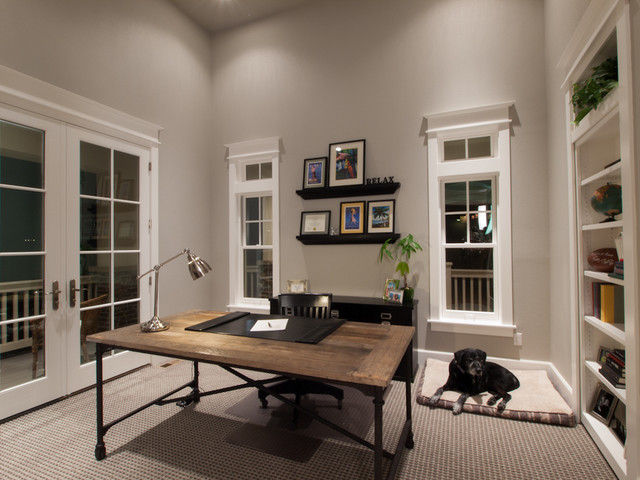 Houndstooth Residence - traditional - home office - denver - by