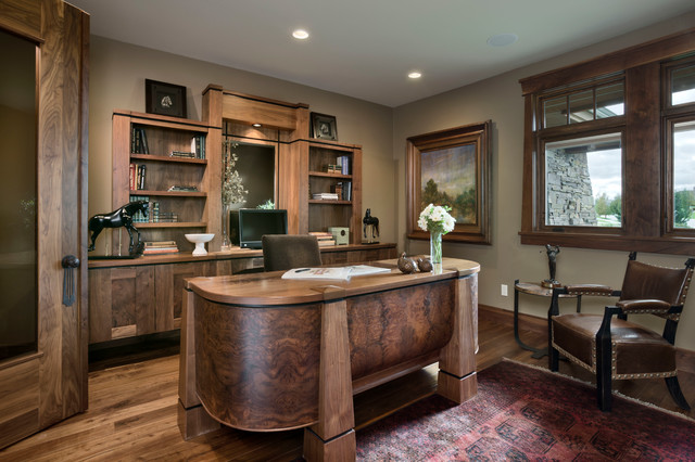 rustic office. House On The Green Rustic-home-office Rustic Office E