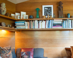 Houzz Tour: An Architectural Relic Thrives in the Heartland of Ohio modern home office