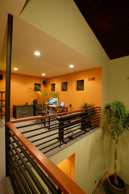Hromoko House modern-home-office