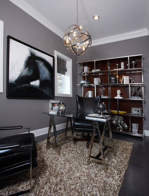 IBB Design Modern Home Office Dallas By