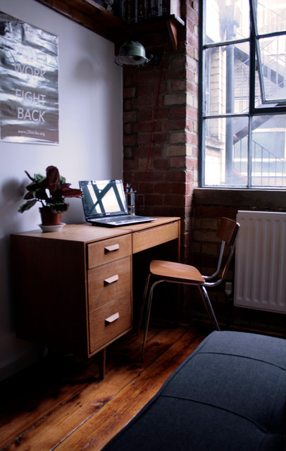 Warehouse conversion industrial-home-office
