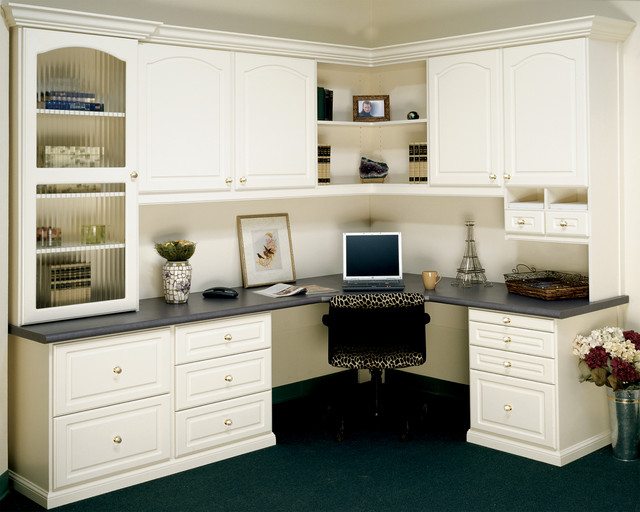 Infinity Home Office System - Traditional - Home Office - Orange ...