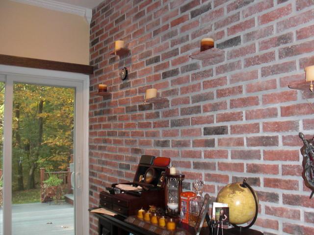Inglenook Tile Design eclectic-home-office