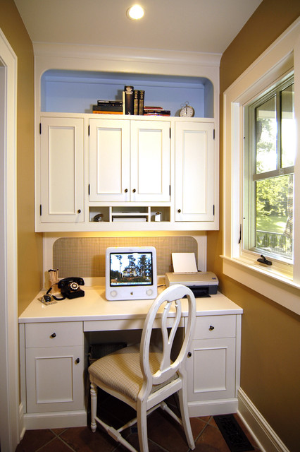 Home Management Center traditional-home-office