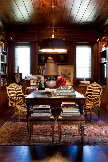 Inherited ease traditional home office los angeles by tim clarke design - Design interior home with ease ...
