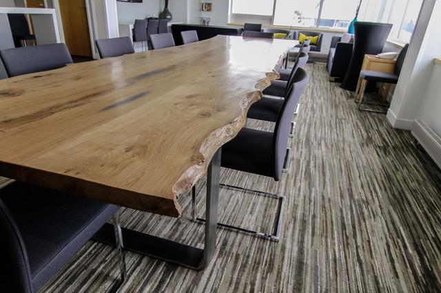Inn at the Fork - Boardroom Table, Flooring modern-dining-tables