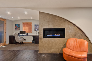 photo by finished basement company search contemporary home office pictures