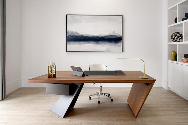 Interior Designer Home Office Space Minimalistisch Arbeitszimmer Sonstige Von Daniel Green Architectural Interiors Photography Houzz