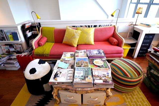 Interior Designer's Home Office eklektisk-hjemmekontor