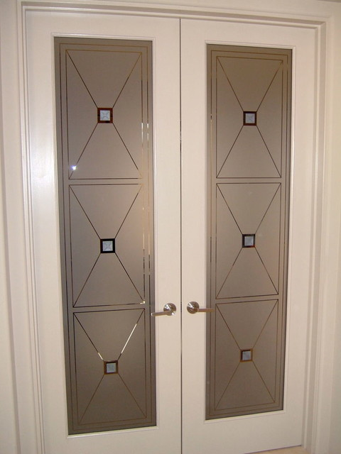 interior frosted glass door. Interior Glass Doors With Obscure Frosted Designs - Cross Hatch Contemporary-home-office Door