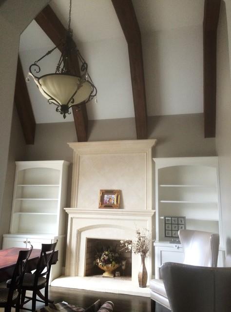 Interior Painting And Hardwood Flooring Refinish Huntersville Nc Contemporary Home Office