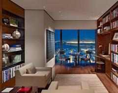 Interior shots contemporary-home-office