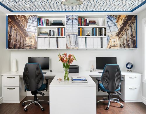 Стилен и функционален домашен офис за двама 1