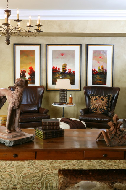 J. Hirsch Interior Design Portfolio eclectic home office