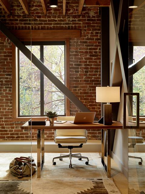 Interior Designers Decorators Jackson Square Project Industrial Home Office