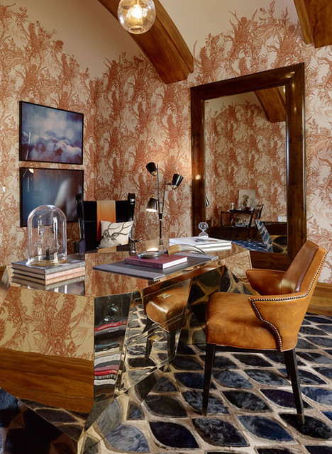 Jackson Street eclectic-home-office