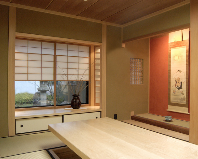 Japanese style home office asian home office san for Asian office decor