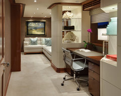 JQB Ltd Design - master stateroom writing desk contemporary home office