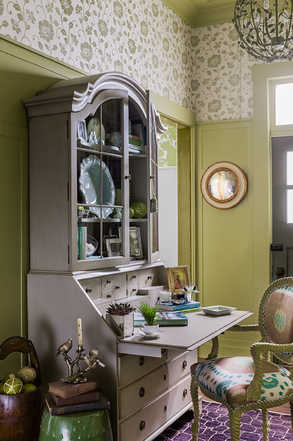 Junior league of boston showhouse traditional home office