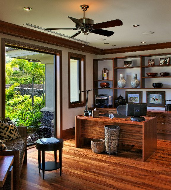 ka hale tropical home office hawaii by rick ryniak architects