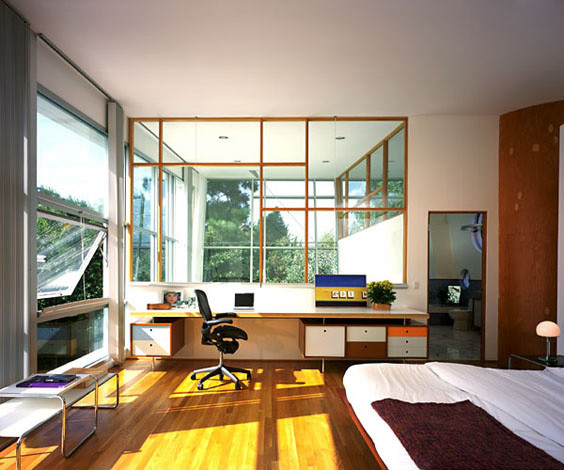 KANNER ARCHITECTS modern-home-office