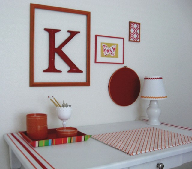 karen@strictlysimplestyle eclectic-home-office