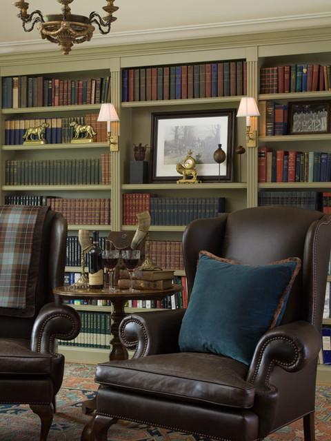 Kathleen Burke Design traditional-home-office