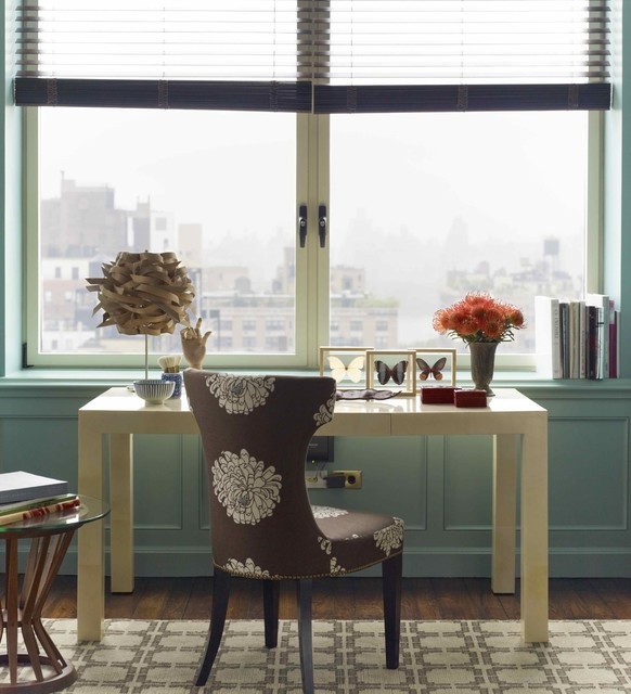 Katie Ridder Rooms - Contemporary - Home Office - New York - by ...