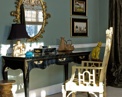 Katie Rosenfeld Interiors transitional-home-office