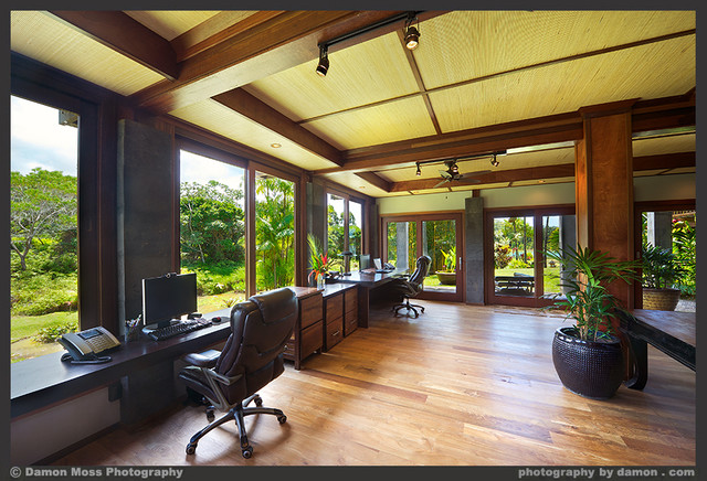 home office architecture. kauai lake one tropicalhomeoffice home office architecture t