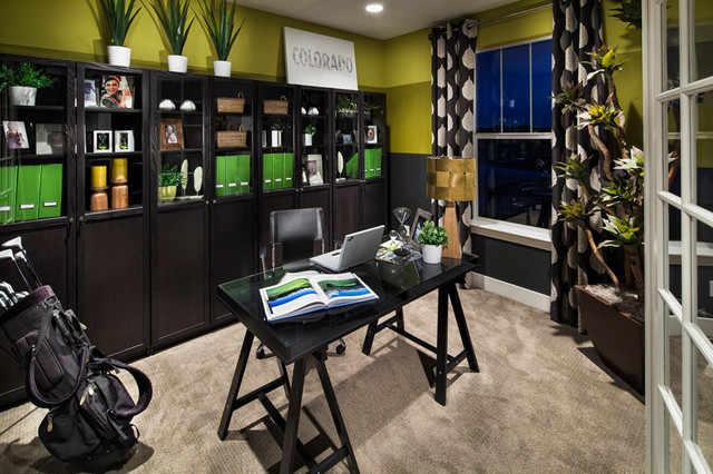Kb Home Design Studio Denver Kb Meridian Village Modern Home Office Denver  By