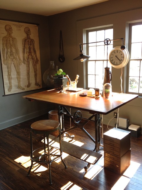 Keegan office - Industrial - Home Office - other metro - by Emily Winters