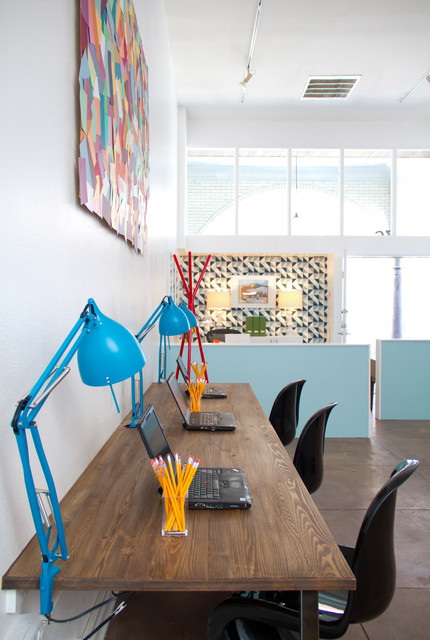 Kelly Edwards for Teen Project modern home office