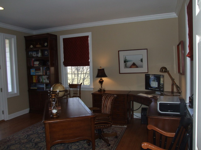 kellydesigns traditional-home-office