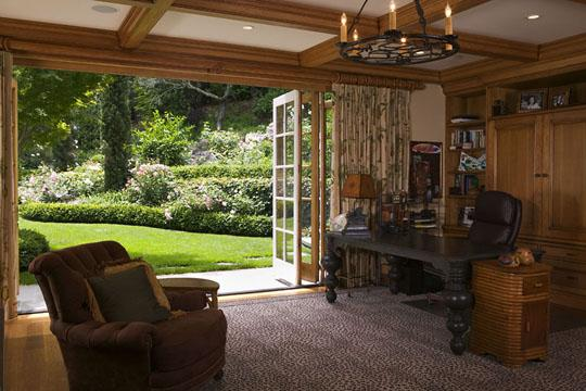 David Ludwig Studios traditional-home-office