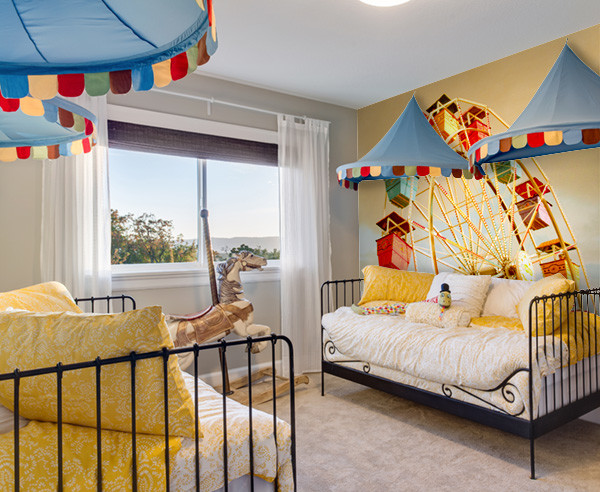 Kids Rooms Beach Style Home Office Minneapolis By
