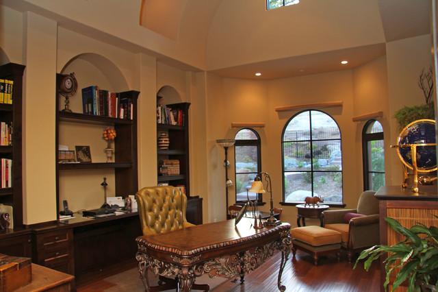 King Ranch Mediterranean Home Office Sacramento By