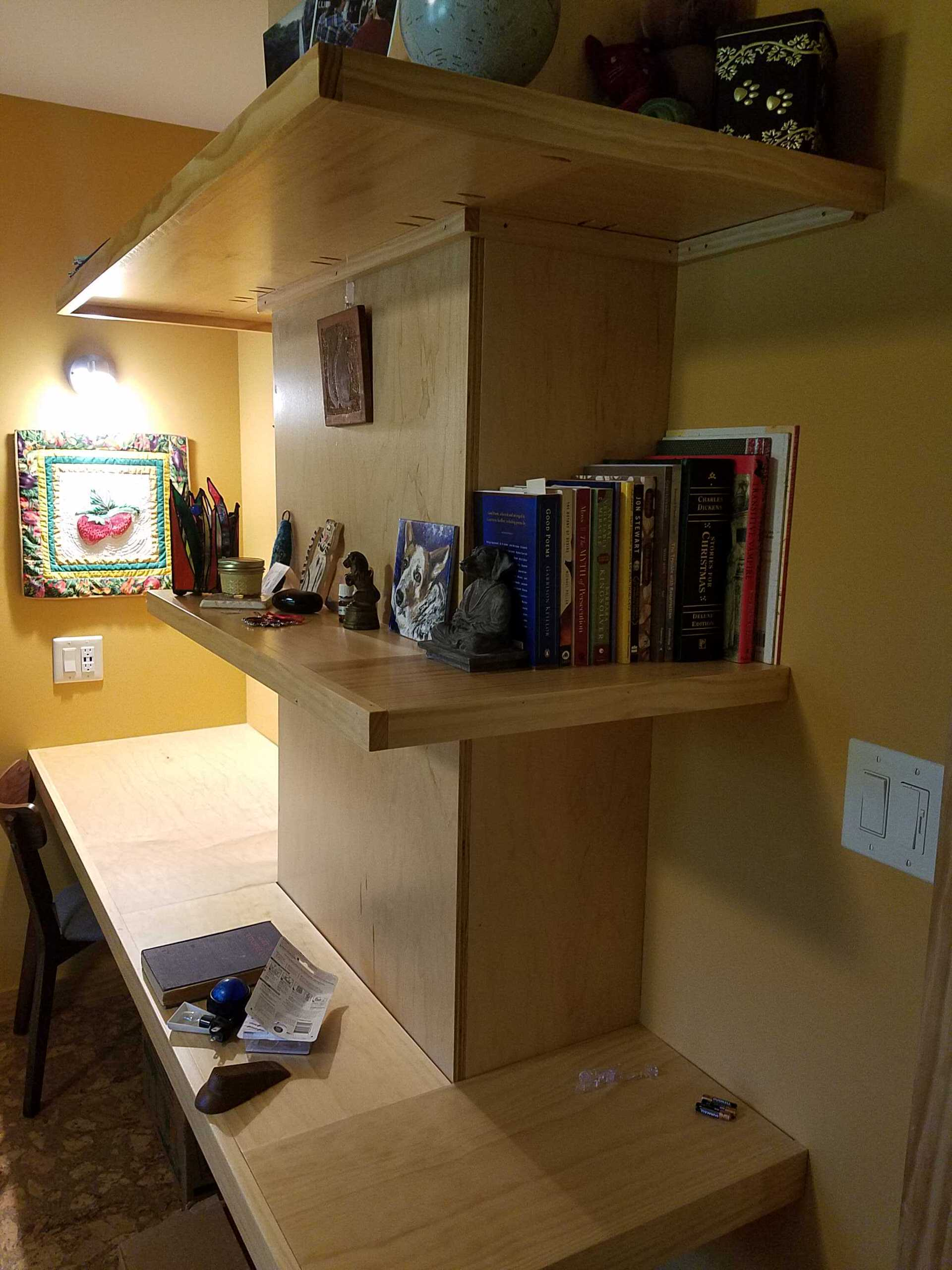 Kitchen & Office/Library Remodel