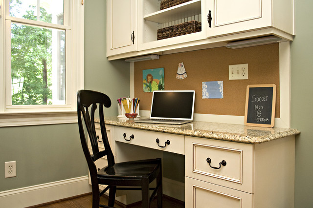 Kitchen Traditional Home Office Raleigh by Driggs Designs