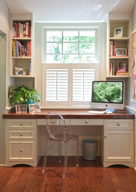 Kitchen upgrade traditional home office new york by carol